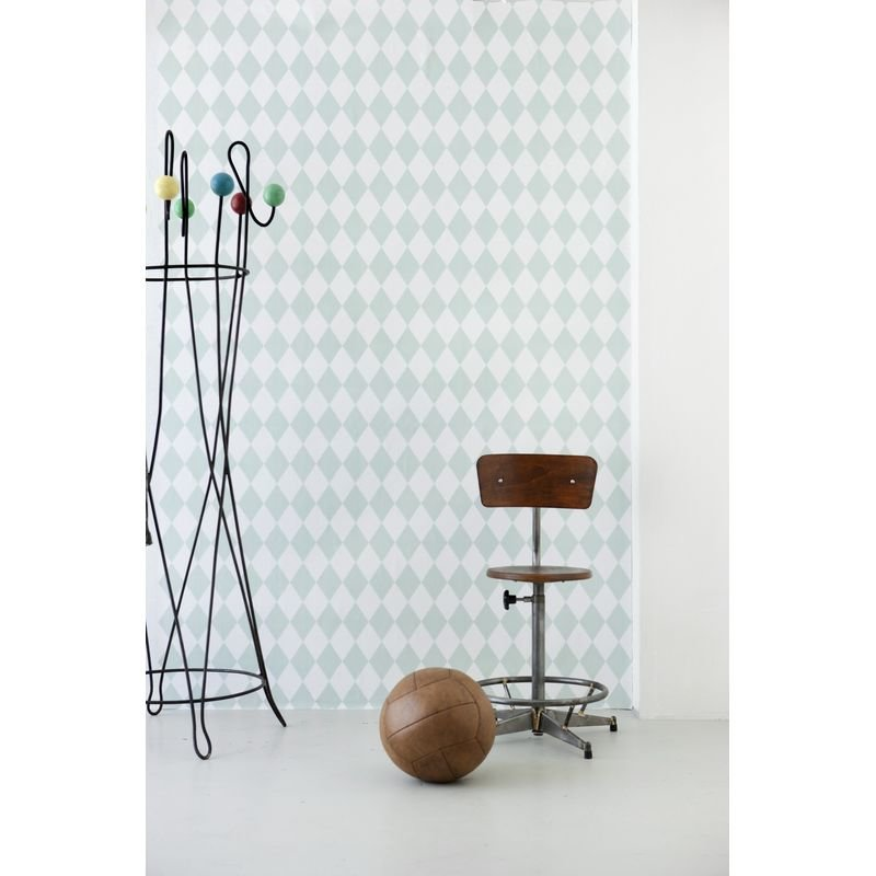Tapet Harlequin – Mint Ferm Living