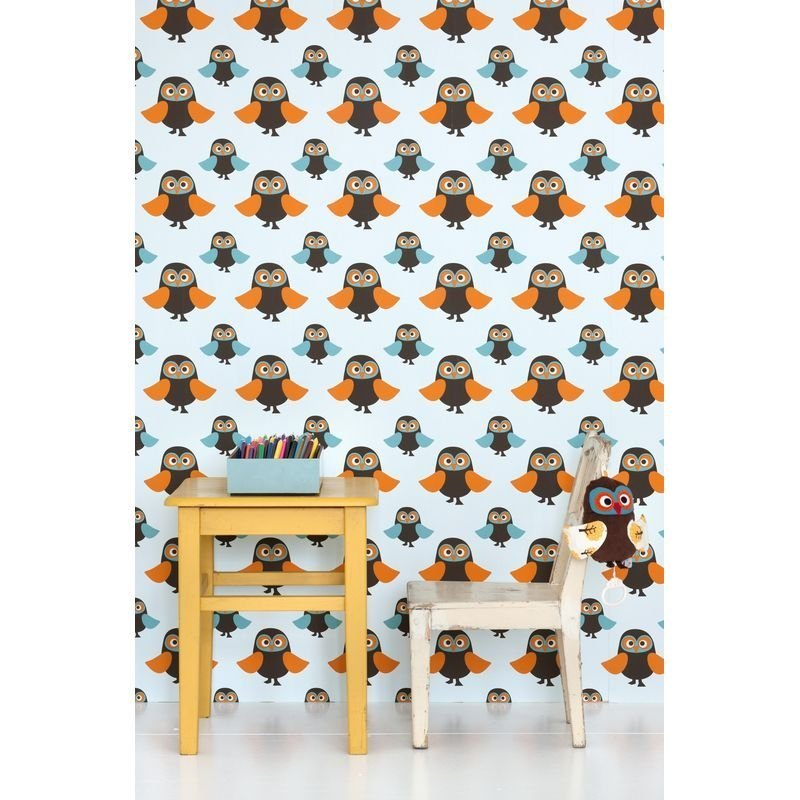 Tapet Owls Ferm Living