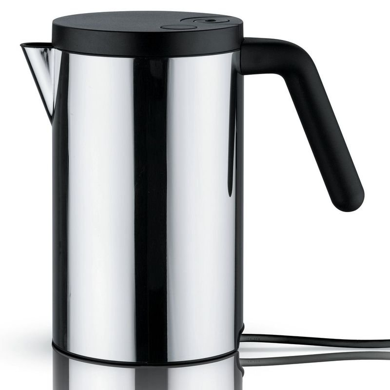 Vattenkokare Hot It – svart Small Alessi