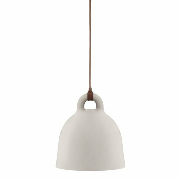 Taklampa Bell - sand X-Small
