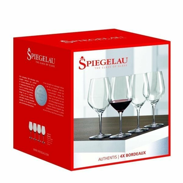 Spiegelau Authentis Bordeaux vinglas, 4-pack