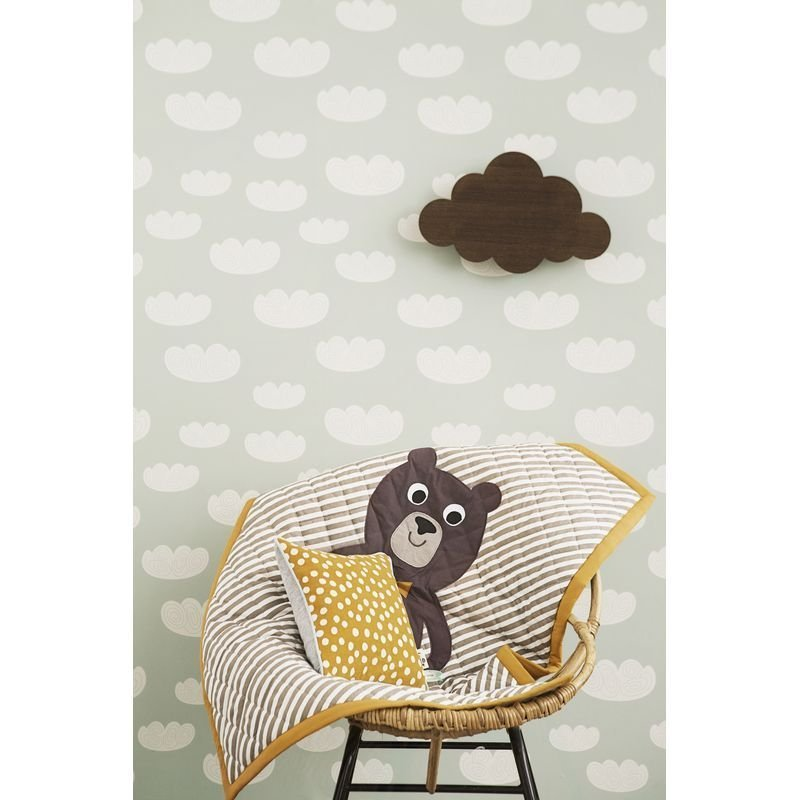 Tapet Cloud Mint Ferm Living