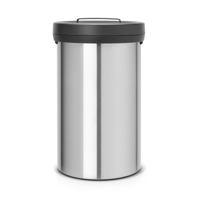Big Bin 60 liter Matt Steel Brabantia