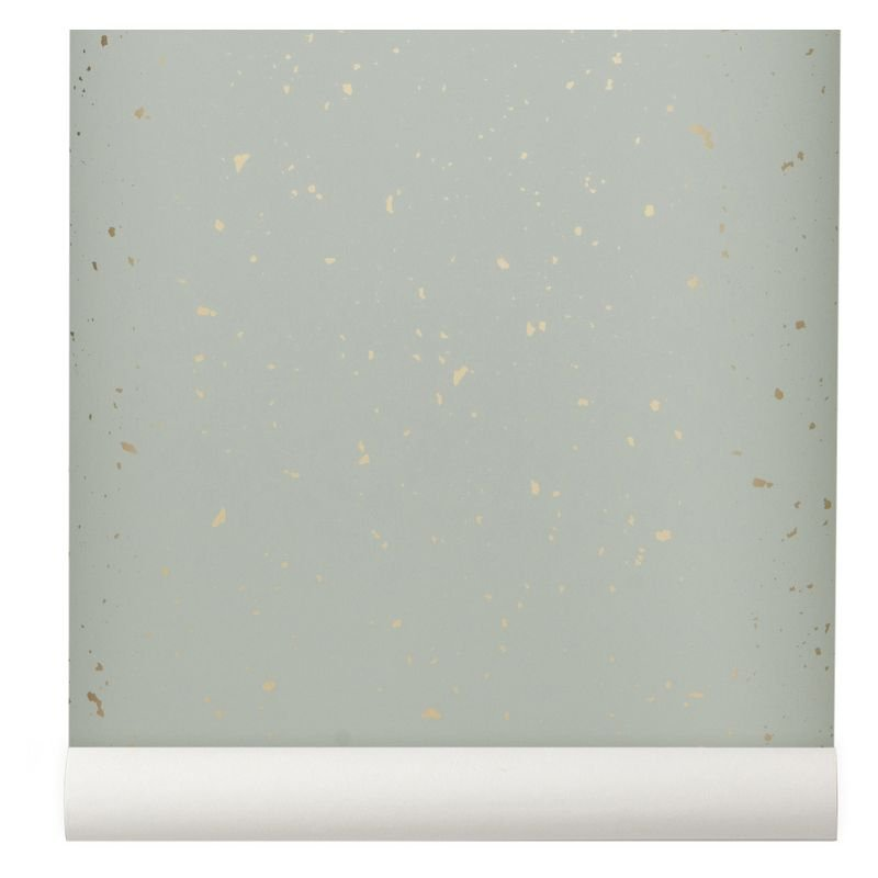 Tapet Confetti Mint Ferm Living