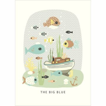 Poster The Big Blue