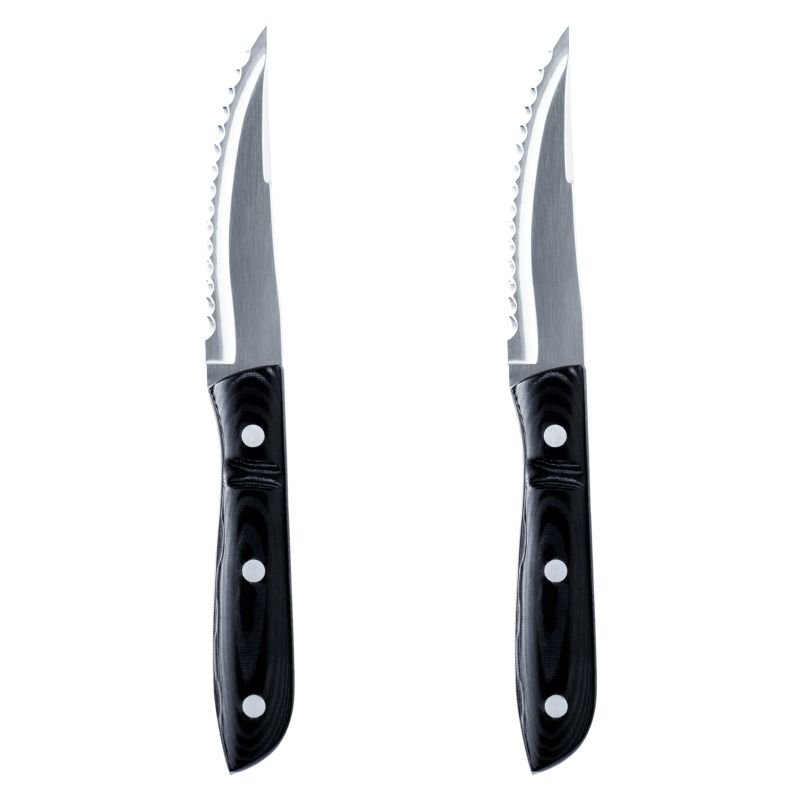 Old Farmer grillkniv XL Micarta 2-pack Gense