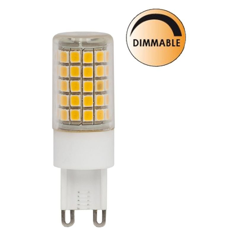 LED lampa Klar 5,6W G9 Dimbar L58 Globen Lighting