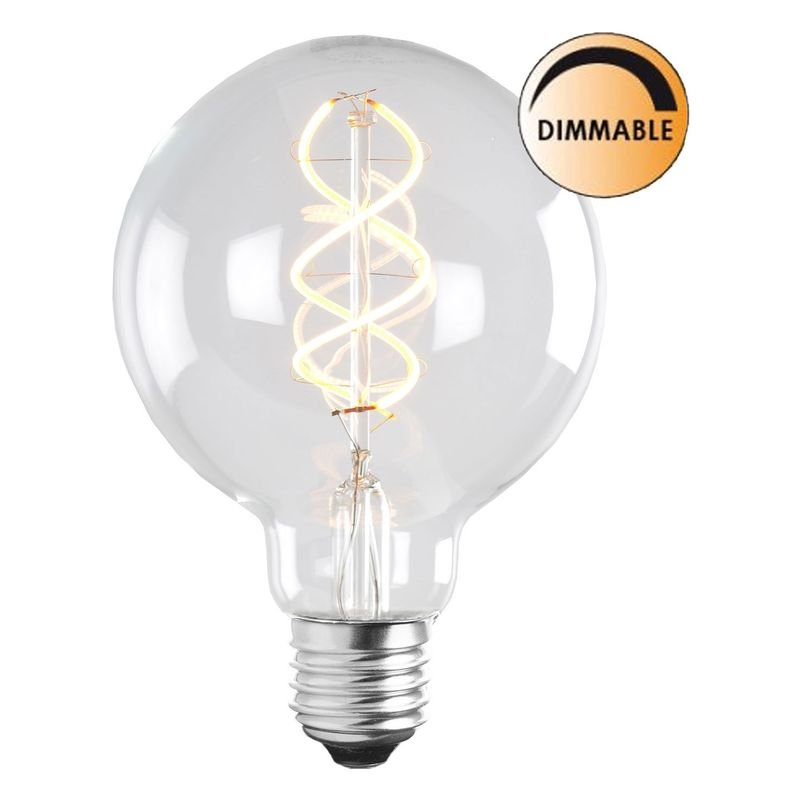 LED lampa Klar 5W E27 Dimbar L204 Globen Lighting