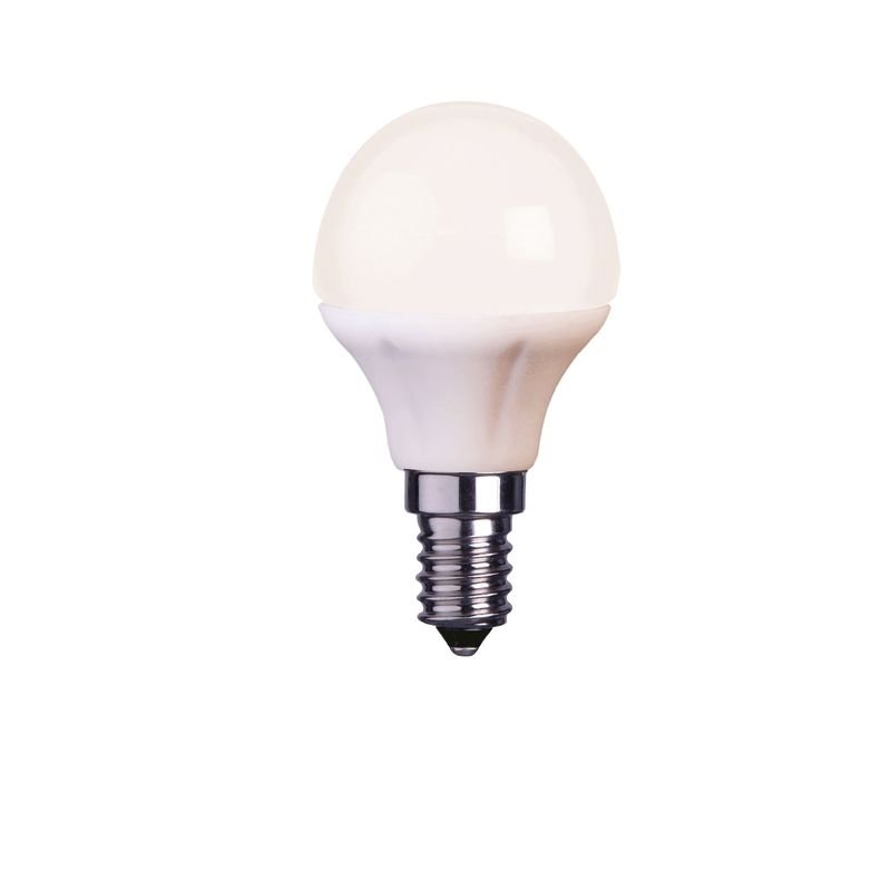 LED lampa Opal 4,5W E14 L160 Globen Lighting
