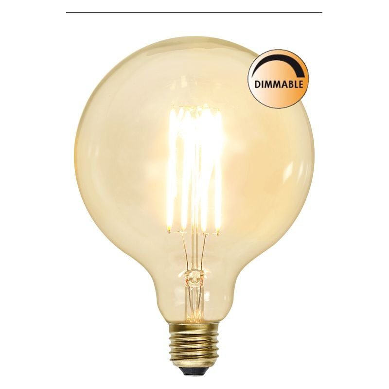LED lampa Klar 3,6W E27 Dimbar L181 Globen Lighting