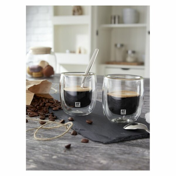 Sorrento espressoglas 80 ml 2-pack