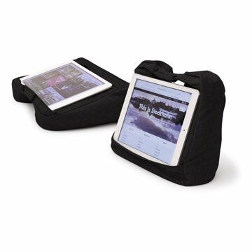 Resekudde - Tablet & Travel Pillow 2-in-1 - Svart