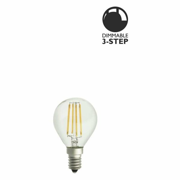 LED lampa Klar 5W E14 3-steg dimbar L117 Globen Lighting