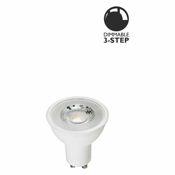 LED spot Klar 6W GU10 3-steg dimbar L119 Globen Lighting