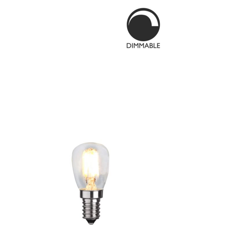 LED lampa Klar 2,5W E14 dimbar L174 Globen Lighting