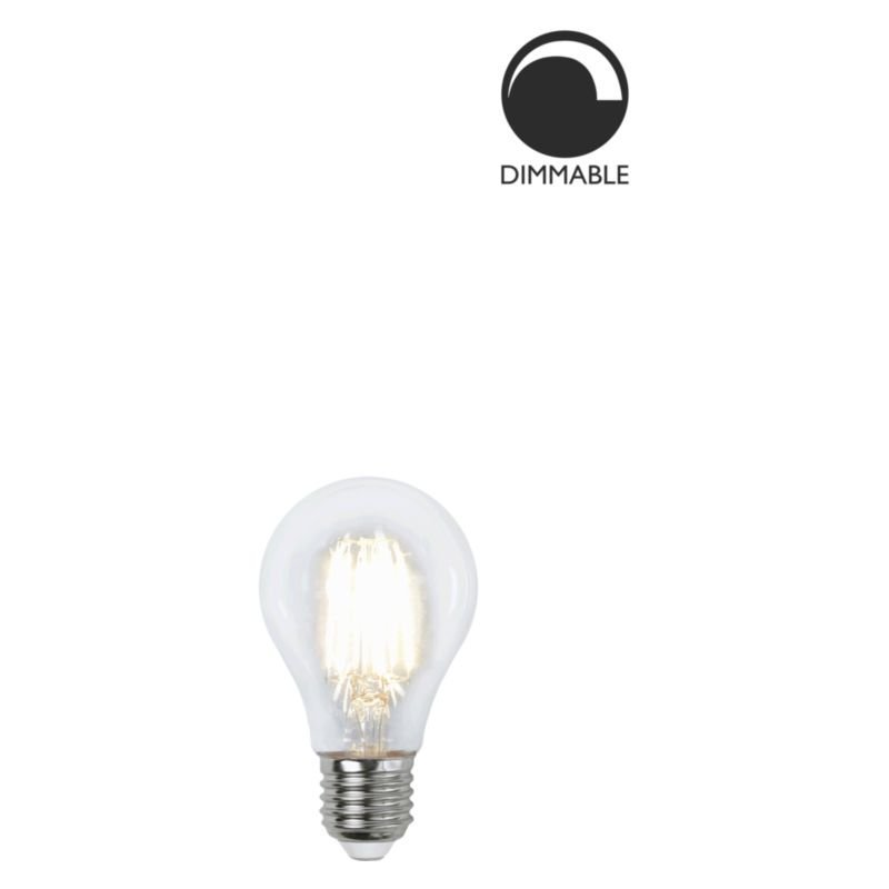 LED lampa Klar 6,5W E27 dimbar L179 Globen Lighting