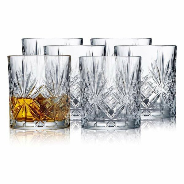 Whiskyglas Melodia i kristall 6-pack